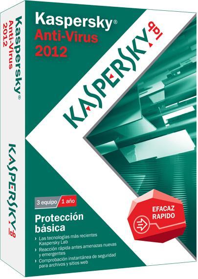 Kaspersky Anti-Virus 2012 BOX ES