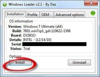 Windows 7 SP1 original 32-64 bit