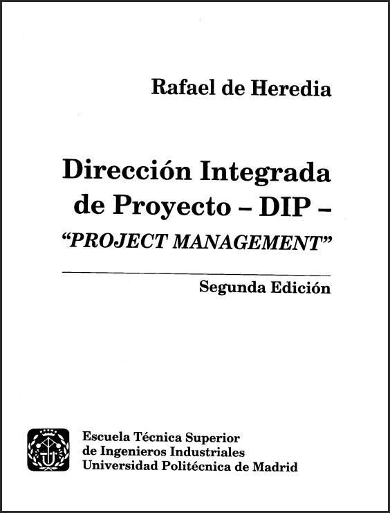 direccion integrada de proyecto. rafael heredia